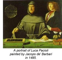 History of accounting - Pacioli