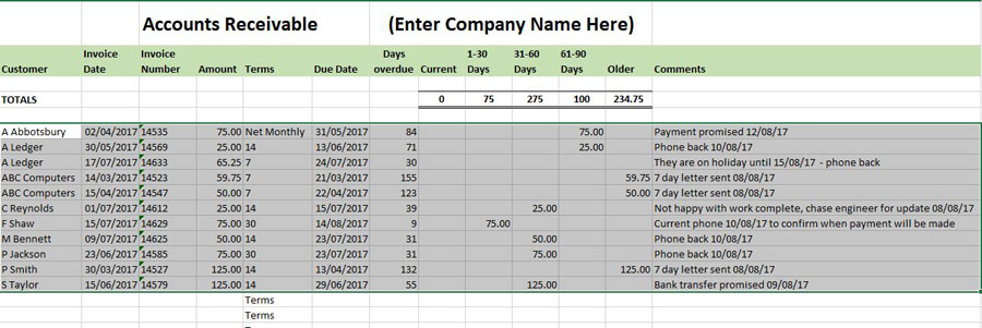 free excel bookkeeping templates 10 excel templates