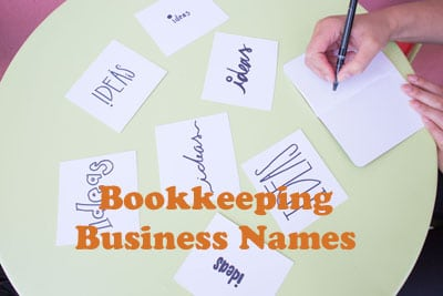Bookkeeping Business Names Ideas